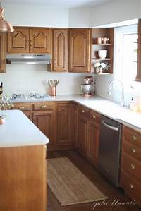 oak kitchen cabinets 5 Ideas: Update Oak Cabinets WITHOUT a Drop of Paint