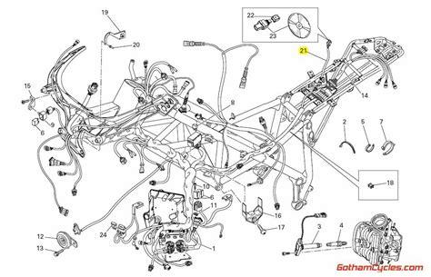 Ducati Data Acquisition Wiring Harness Superbike