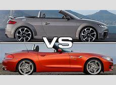 2017 Audi TT RS Roadster vs BMW Z4 Roadster YouTube