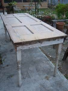 Old Door Made into Table
