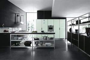 carrelage et murs pour ma nouvelle cuisine page 2 With cuisine blanche sol noir