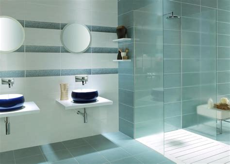 Big Tiles Bathroom by Fox Blanco Wall Tile 25x50cm Tiles Ahead House