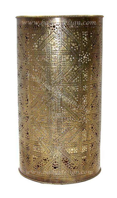 moroccan brass wall sconce from badia design inc