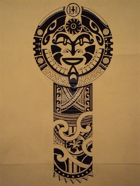 Tongan Tattoos With Meanings  Polynesian Tattoo Pattern