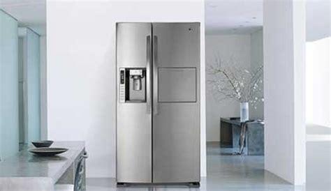 frigo americain dans cuisine equipee bien intégrer un frigo dans une cuisine