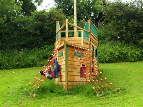 pin  rentmyhusband  pirate ship playhouse backyard