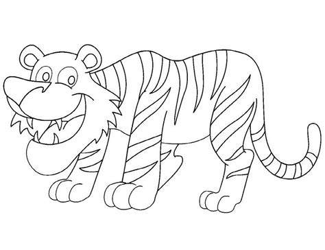 tiger pictures  kids coloring home