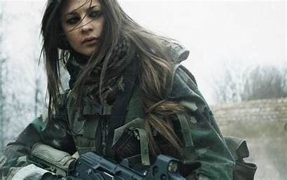 Soldier Wallpapers Female Wallpapercave