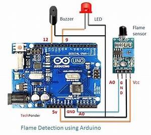 Fire Detection Using Arduino And Flame Sensor  3 Steps