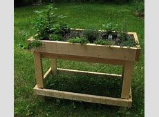 What Are Table Gardens Information For Raised Garden Bed