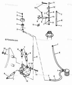 Polaris Watercraft 1997 Oem Parts Diagram For Fuel System