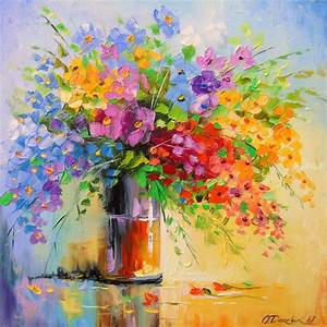 Paintings by Olha Darchuk   Impressionism, Botanical ...