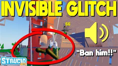 invisible glitch gave  aimbot strucid youtube