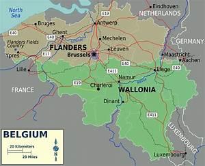 Carte Du Monde Liège : carte belgique carte de la belgique ~ Teatrodelosmanantiales.com Idées de Décoration