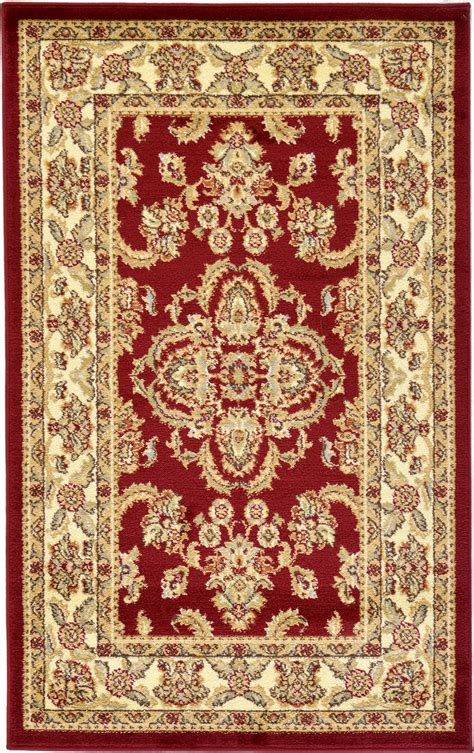 Keshan Rug by Traditional Medallion Persian Area Rug Oriental Bordered