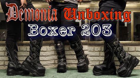 Demonia Boxer 203 Unboxing