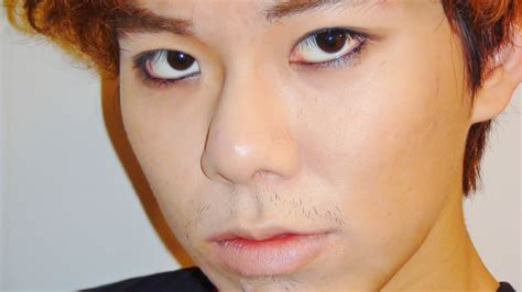 updated  pop male eye liner  makeup tutorial youtube