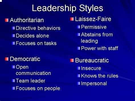leadership styles  techniques leading unit