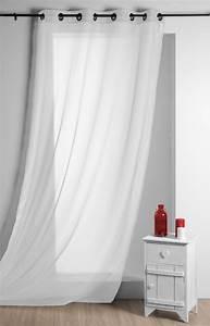 ösen Gardinen Weiß : fertiggardine sengardine einfarbig voile wei 135x260cm gardinen fertiggardinen senschals ~ Whattoseeinmadrid.com Haus und Dekorationen
