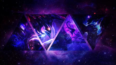 dark star orianna thresh khazix varus lol wallpapers