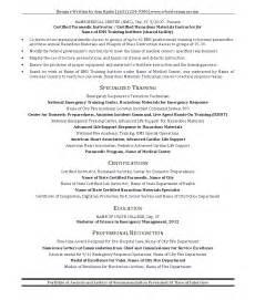 emt resume exle template 10 emt resume cover letter writing resume sle writing resume sle
