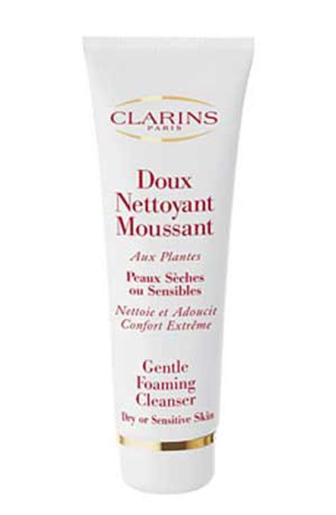 clarins gentle foaming cleanser for or sensitive skin reviews photos makeupalley