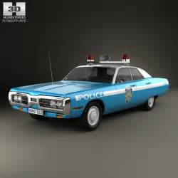 1972 Plymouth Fury Police Car