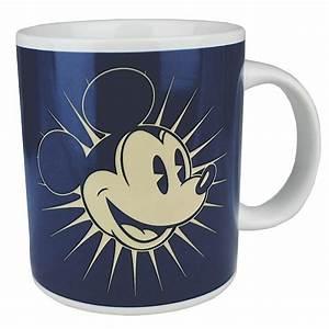 Mickey Mouse Tasse : retro disney mickey mouse tasse kaffeetasse blau kaufen ~ A.2002-acura-tl-radio.info Haus und Dekorationen