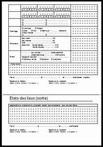 etat des lieux modele gratuit a imprimer word et pdf With etat des lieux appartement meuble pdf