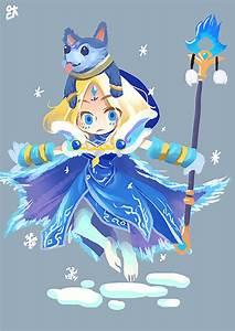 Crystal Maiden Arcana By EDICH Art On DeviantArt