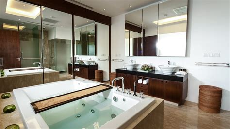 Villa Bathrooms With Spa-like Ambience