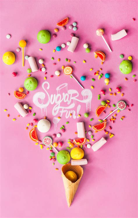 sugar fun printable candy labels  subtle revelry