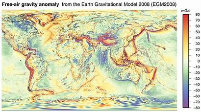 Anomaly Gravity Map Egm2008 Wilkes Land Crater