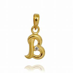 pendants gold pendant alphabet b grt jewellers With letter b pendant gold