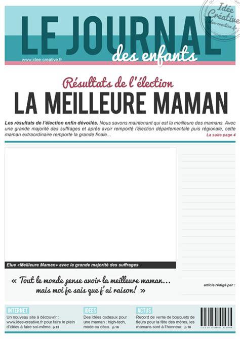 créer un livre de cuisine personnalisé a imprimer une de journal spécial fête des mères idée