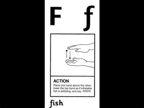 jolly phonics letter f f for fish 62260