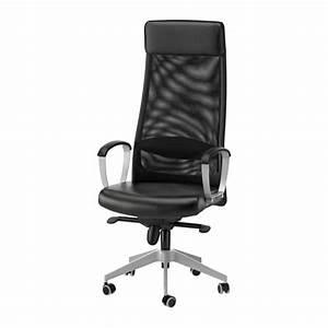 Chaise Noire Ikea : markus chaise pivotante glose noir ikea ~ Teatrodelosmanantiales.com Idées de Décoration