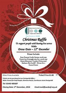 support our christmas raffle With christmas raffle poster templates