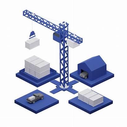Logistics Optimization Transportation Crane