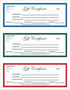 free gift certificate template and tracking log With downloadable gift certificate template
