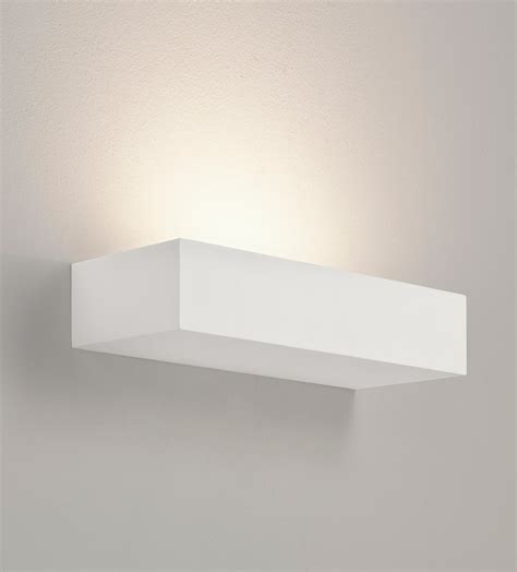 astro parma 200 7038 dimmable rectangular wall light 60w e14 l ip20 plaster ebay
