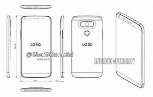 Lg G5 Sketch Reveals Design Refresh  U2013 No Rear Mounted Volume Controls