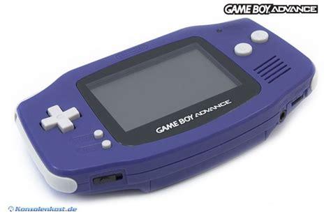 boy kaufen gameboy advance konsole lila purple konsolenkost