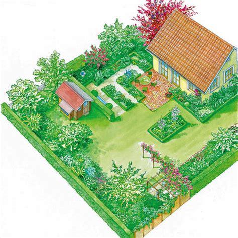Garten Gestalten Eckgrundstück by Landhausgarten Mein Sch 246 Ner Garten