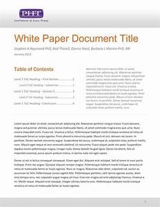 White Paper Template | madinbelgrade