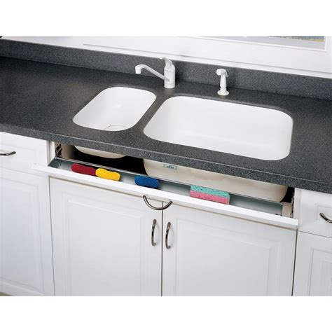 kitchen sink tip out tray rev a shelf 14 in polymer tip out sink front trays 6572 8551