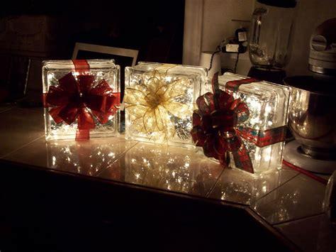 glass christmas light box brittni 39 s personal creations christmas light blocks