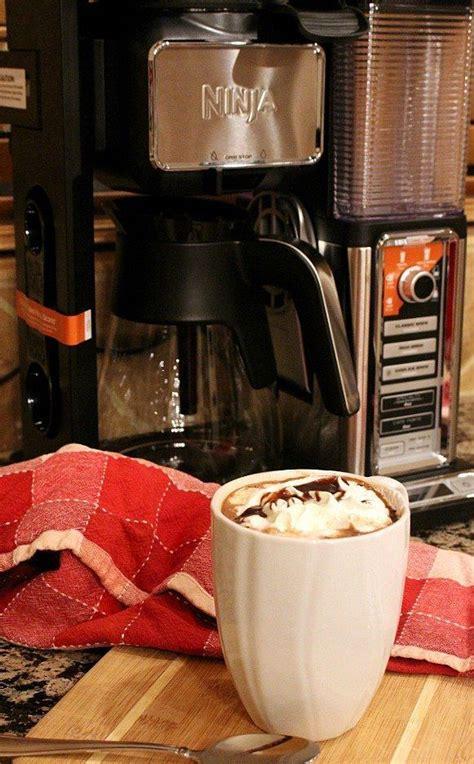 Combine cocoa, coffee, water and sweetener in a small bowl or cup. marshamallow-mocha-1   Ninja coffee bar, Coffee maker ...