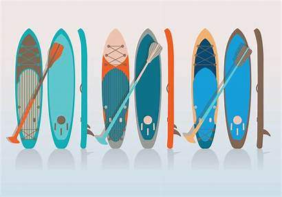 Paddle Board Vector Paddleboard Vecteezy Clipart Graphics