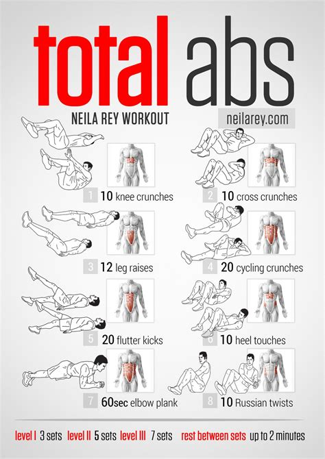Visual Workout Guides For Full Bodyweight, No Equipment